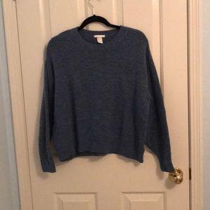 Blue/Gray Sweater